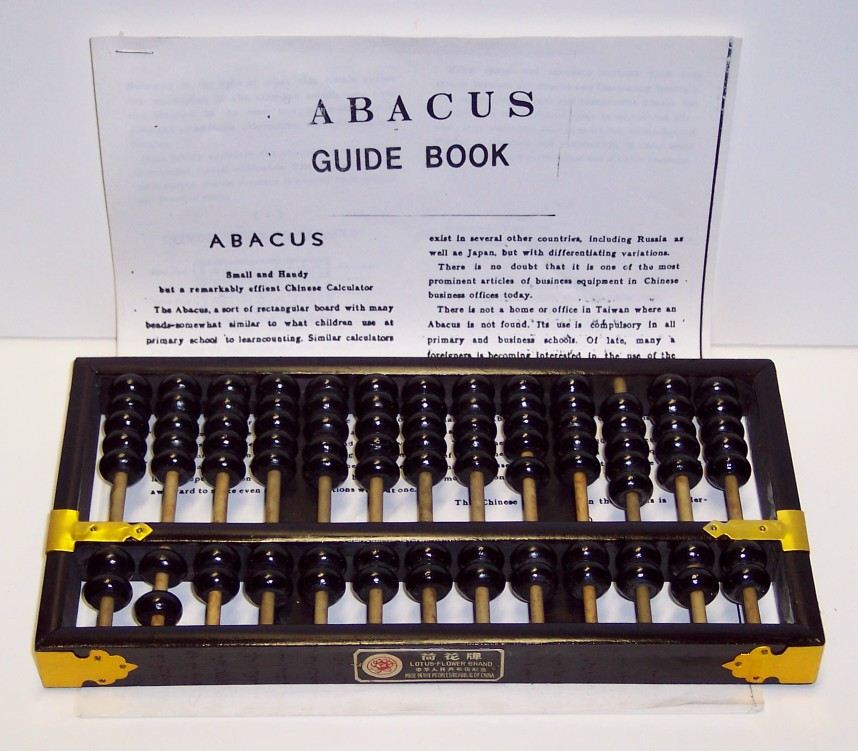 Abacus with Instructions