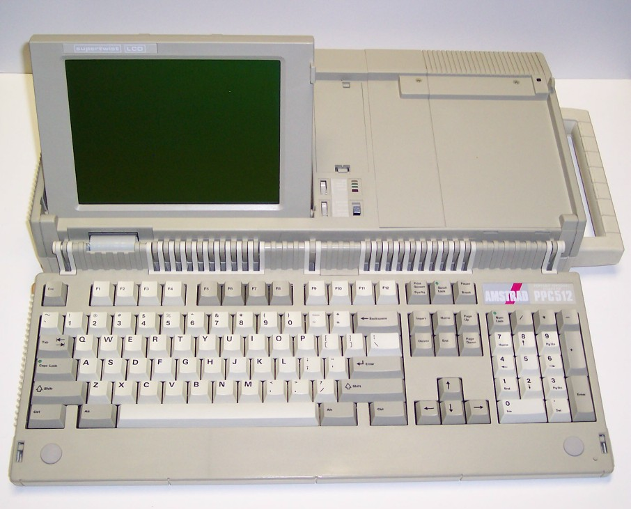 Early Portable PC Amstrad PPC512