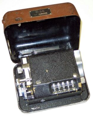 Hagelin C-36 Mechanical Cipher Device