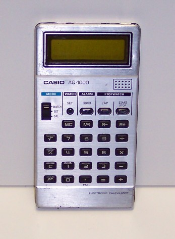 Calculatrice de poche Casio Modèle AQ-1000