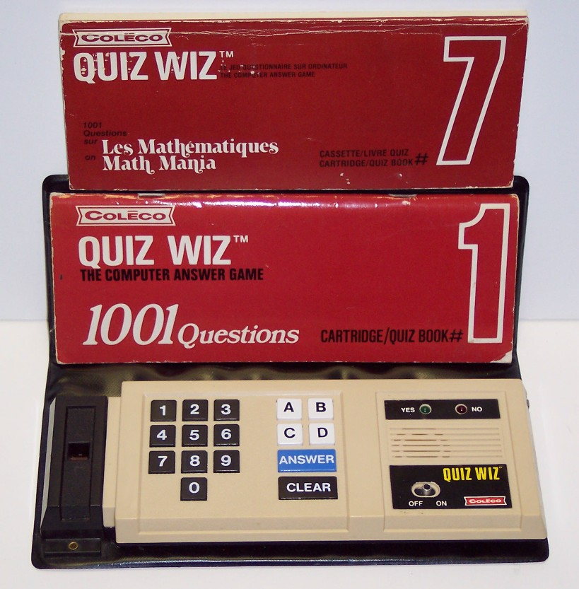 Coleco Quiz Wiz Electronic Game