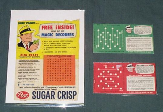 Dick Tracy Magic Decoders