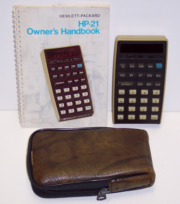 Calculatrice de poche Hewlett-Packard Modèle HP-21