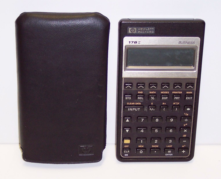 HP Business Calculator Modèle 17BII