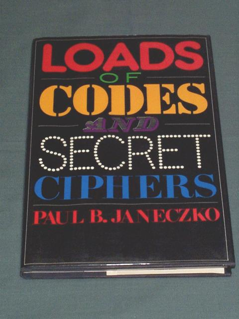 Loads of Codes and Secret Ciphers