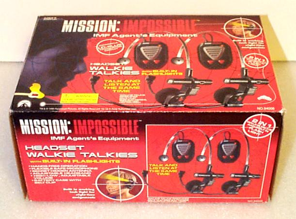 Mission Impossible: Headset Walkie-Talkies