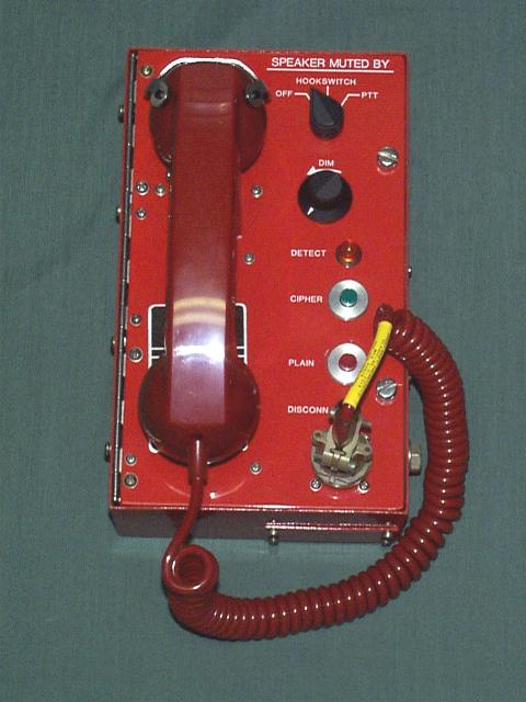 U.S. Naval Cipher Phone