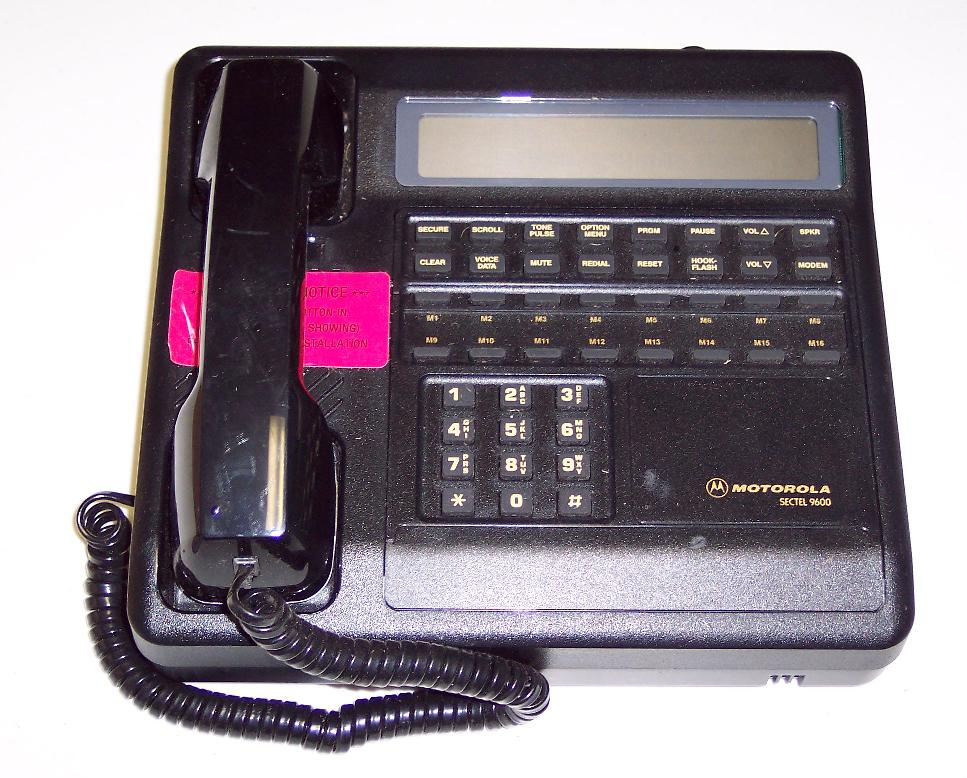 STU-III Secure Phone (Sectel 9600)