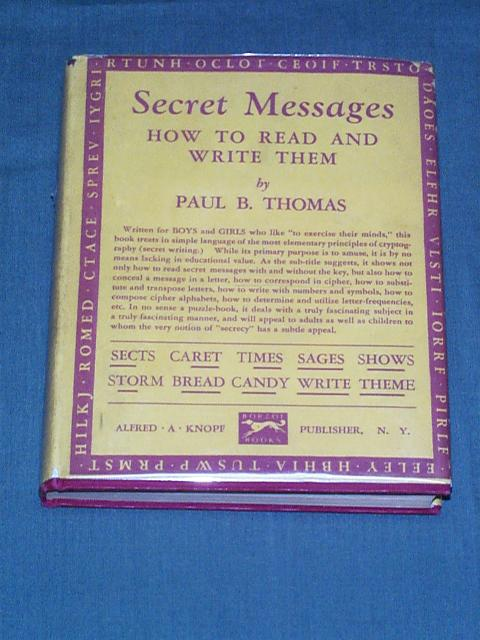 Secret Messages - How to Read and Write Them