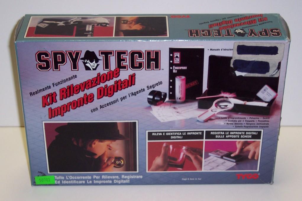 Spy tech digital fingerprint kit