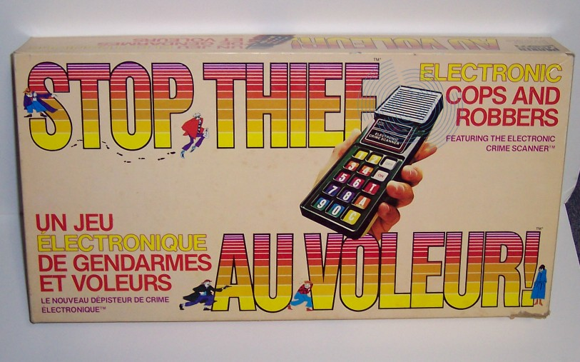 Stop Thief Electronic Game