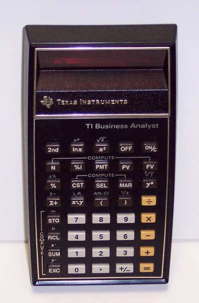 Calculatrice Texas Instruments Business Analyst