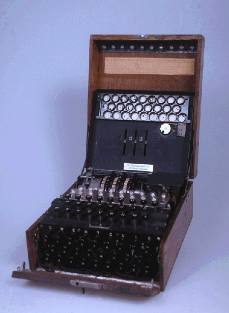 WW-II German 3-rotor Enigma