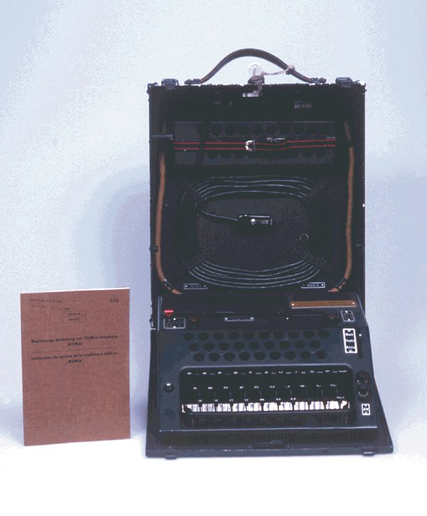 NEMA (Swiss Enigma-like machine - circa 1947)