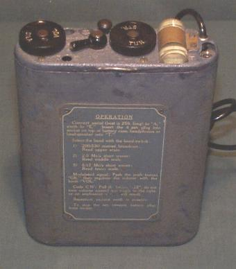 Polish OP-3 Type 30/1 Radio