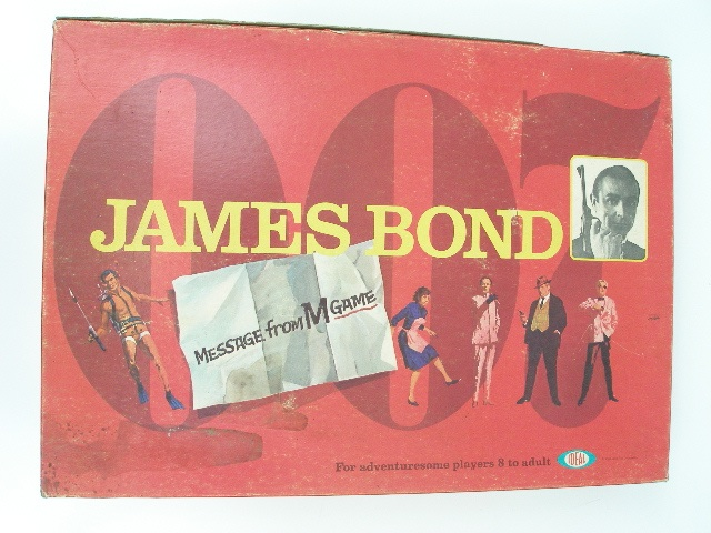 Jeu de société James Bond <i>Message from M</i>
